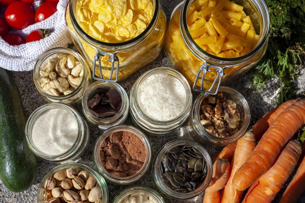 Stockage des aliments en zero dechets